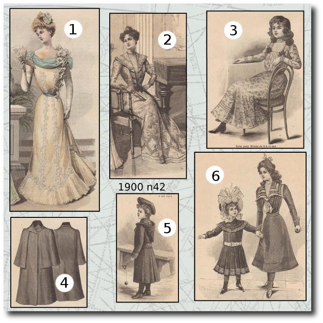 patrons mode 1900