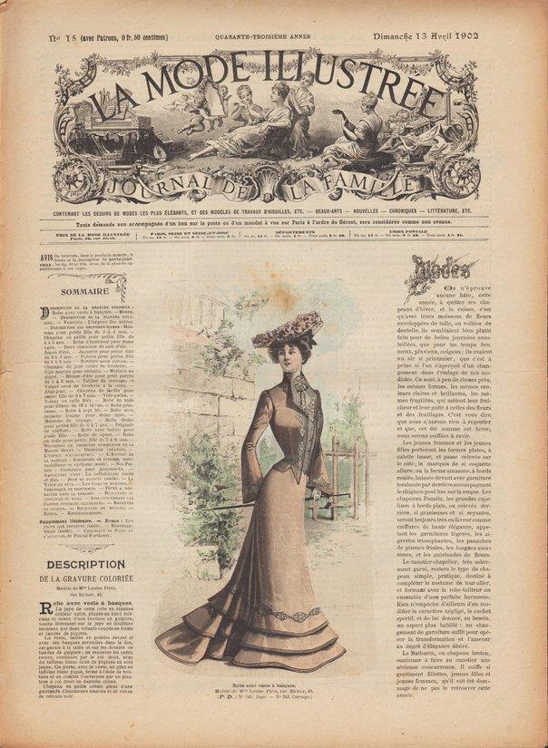 revue modes 1902