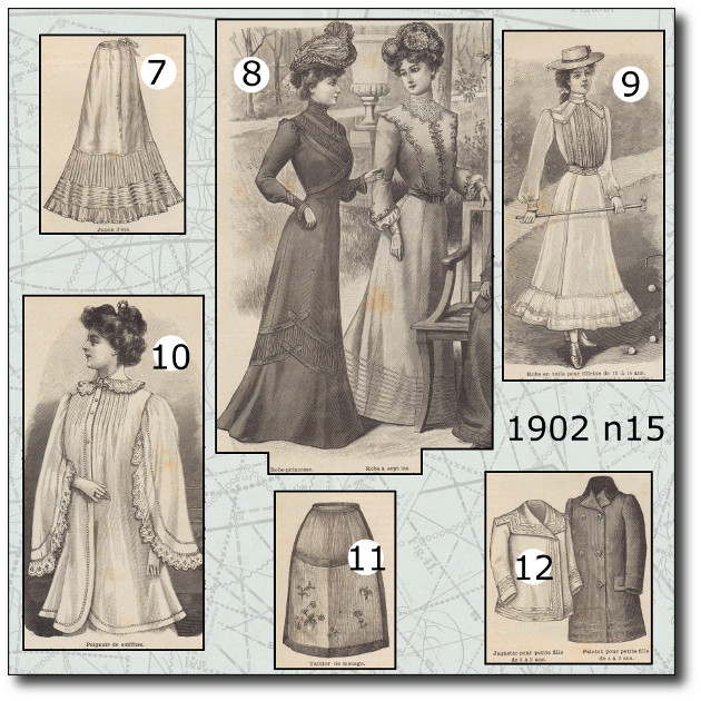 patrons modes 1902