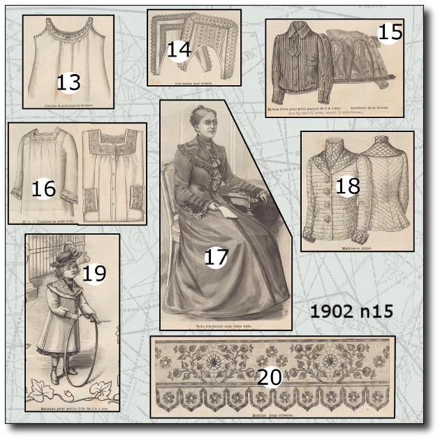 patron mode illustrée 1902