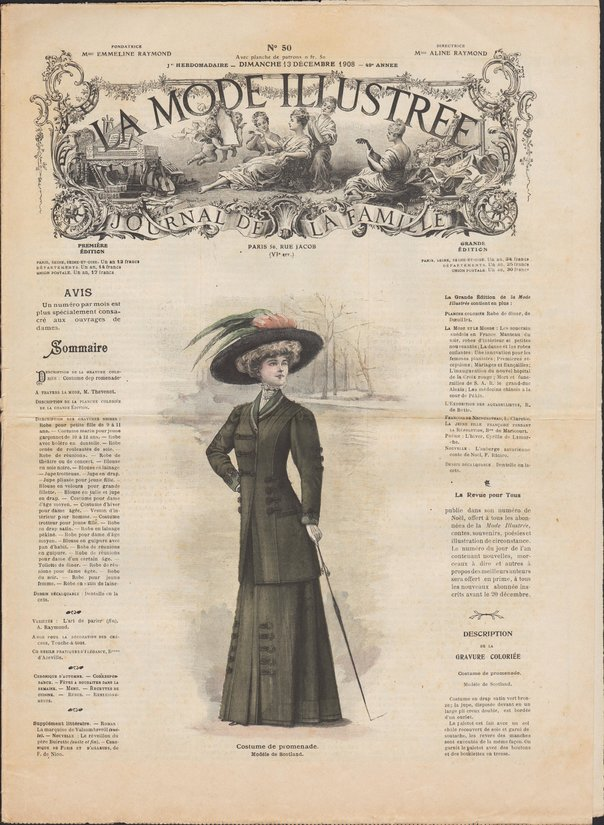 revue mode 1908