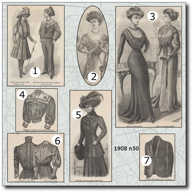patrons mode 1908