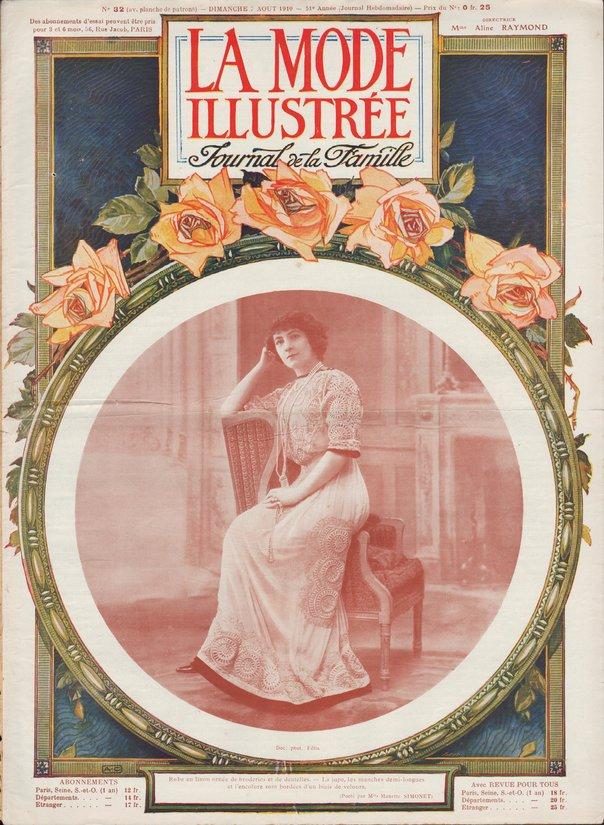 matinée liseuse 1910