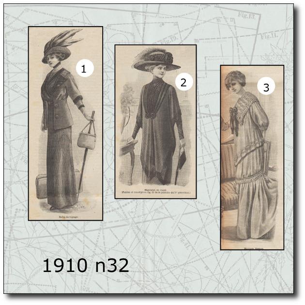 patron costume 1910