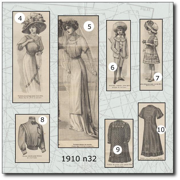 tablier fillette 1910
