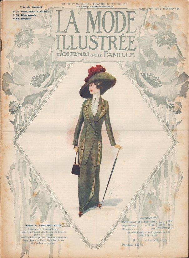 chapeau 1912