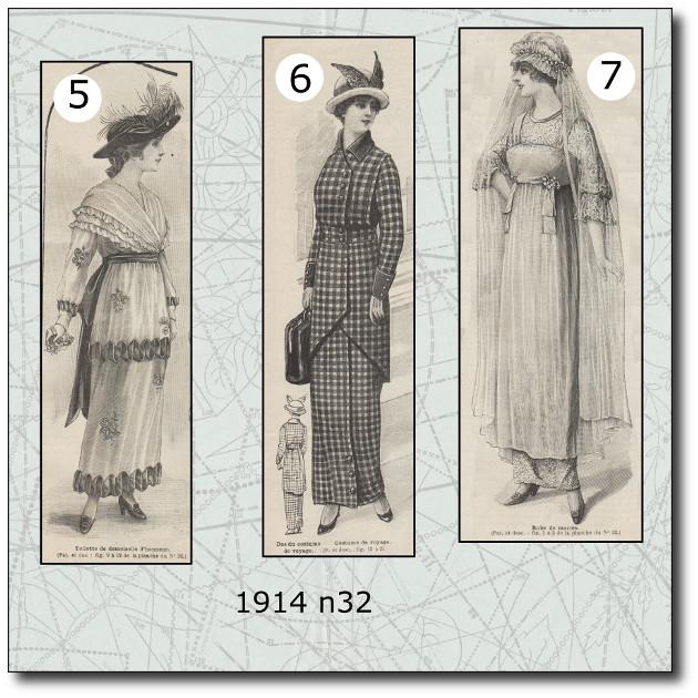 patron-robes-de-mariée-1914