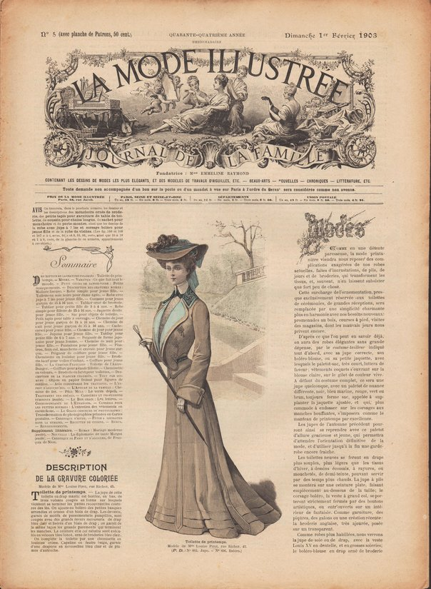 revue 1903