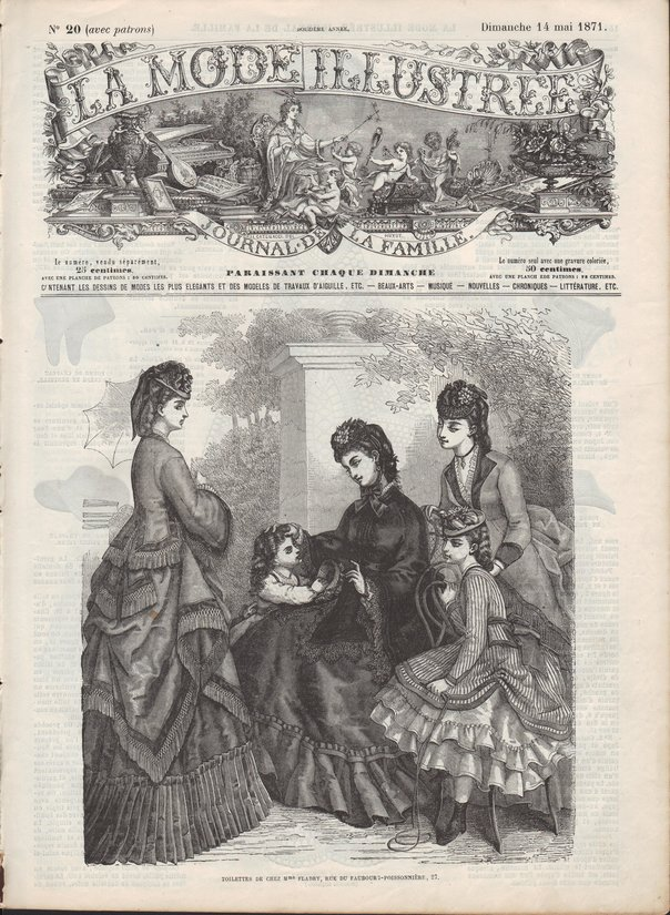 patrons de robes 1871