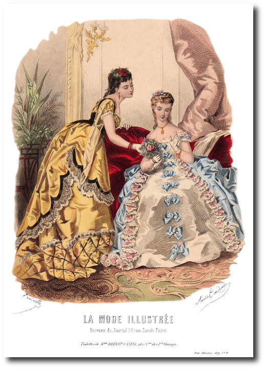 mode illustree 1872