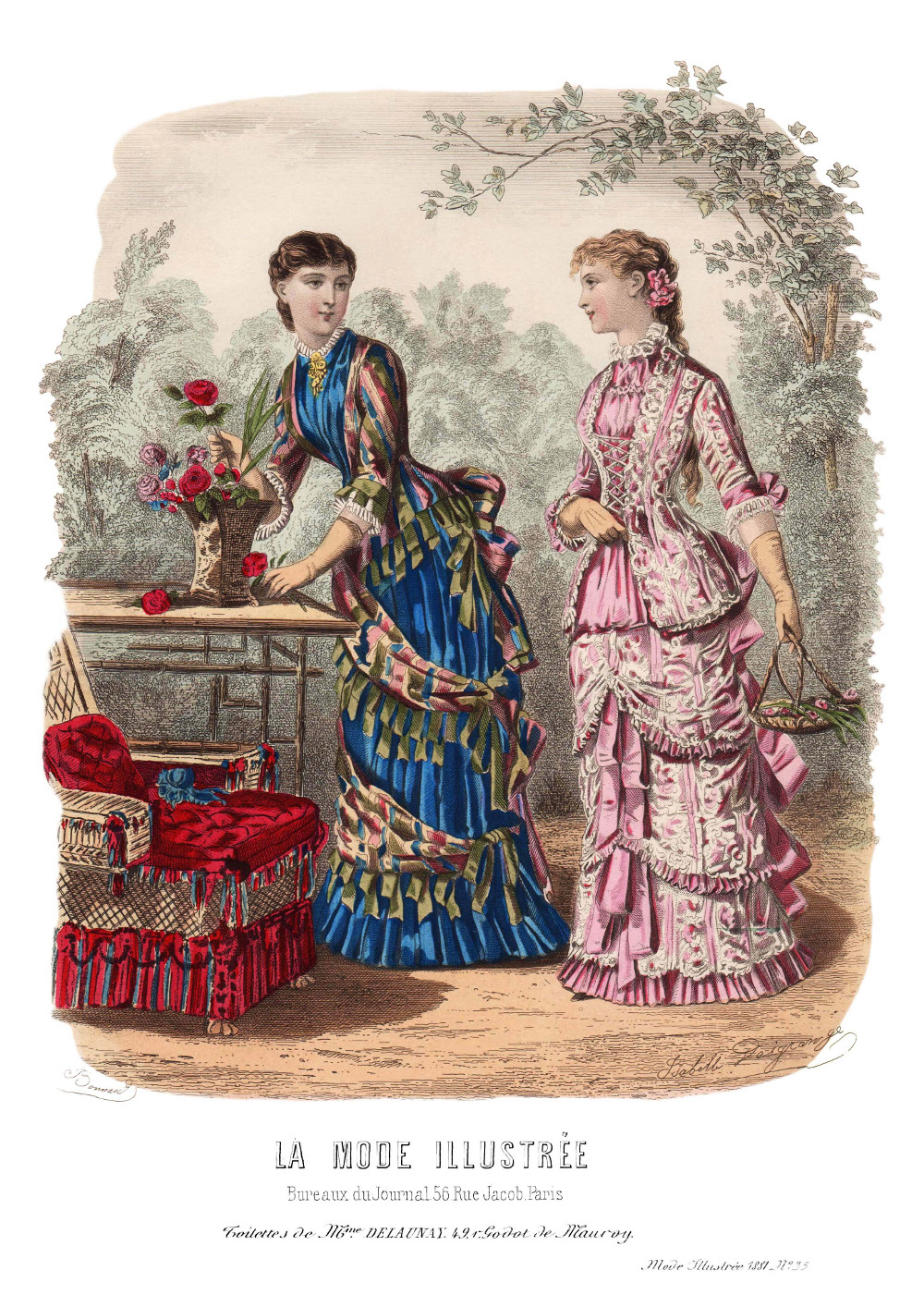 patrons couture 1881