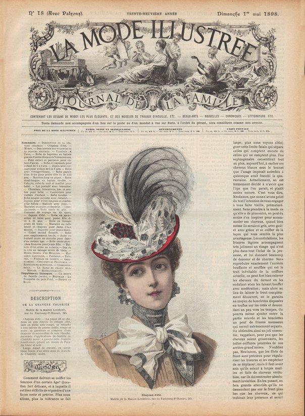 chapeau 1898