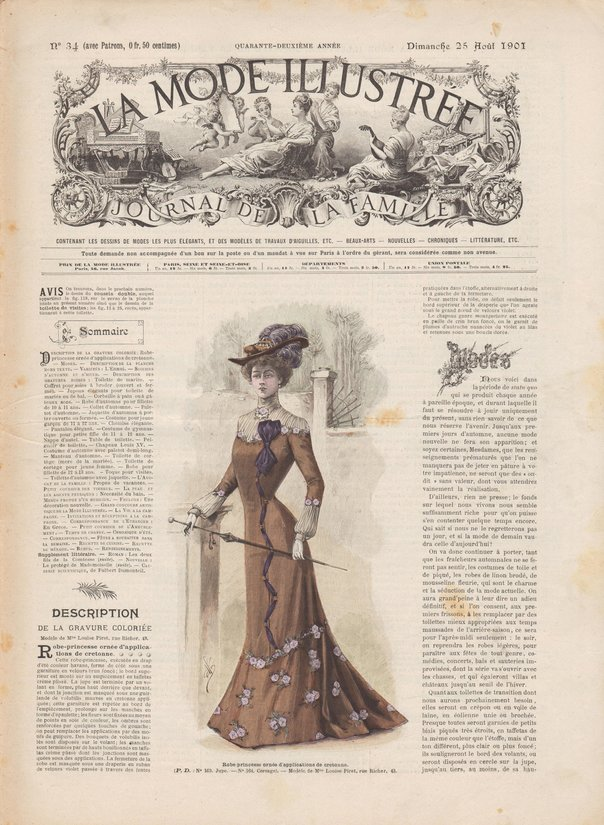robe de mariée en 1901