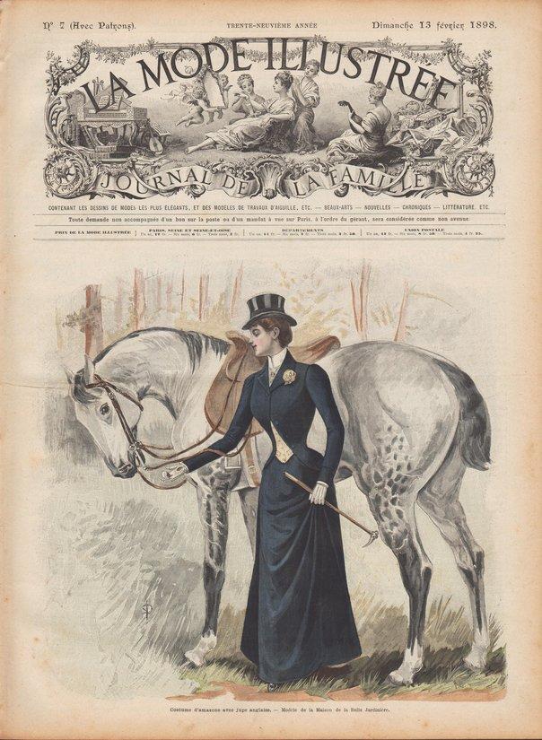 patrons de couture 1898