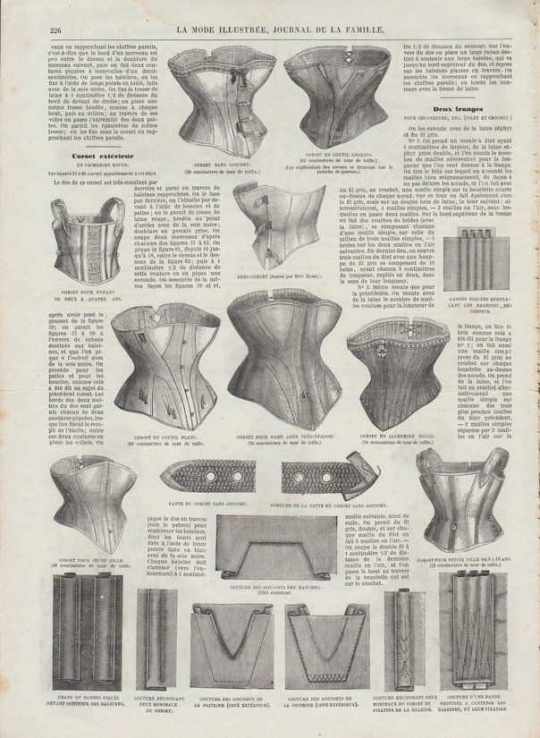corsets 1872