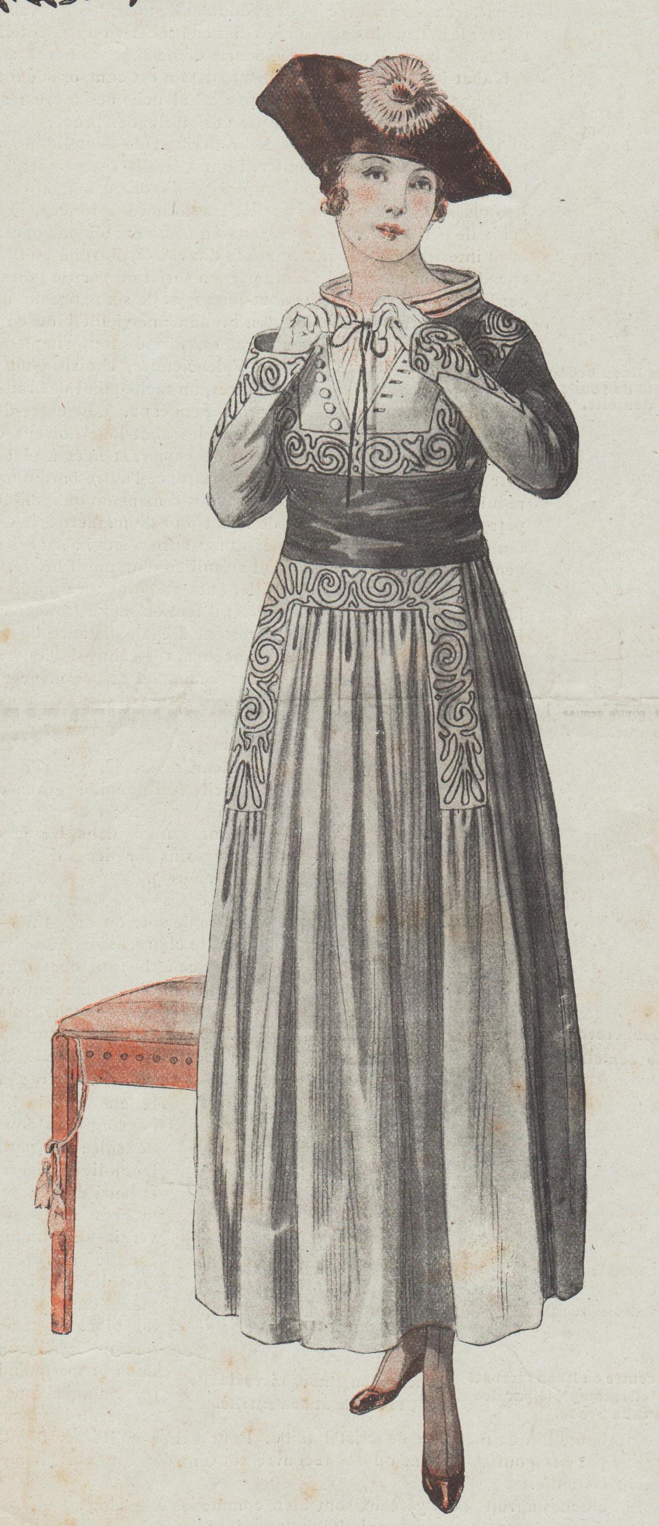patron robe 1917