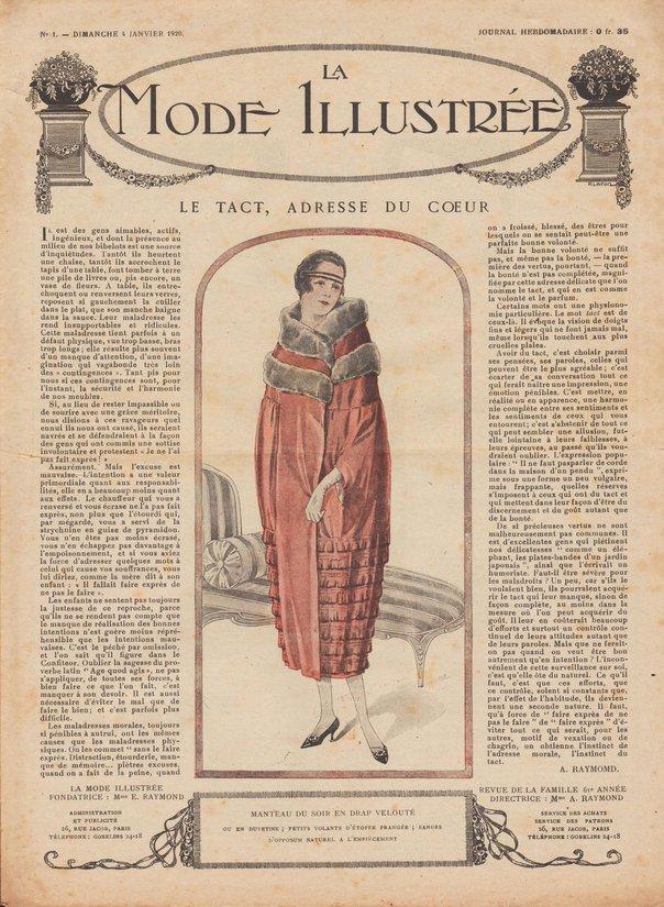 1920 patrons et revues