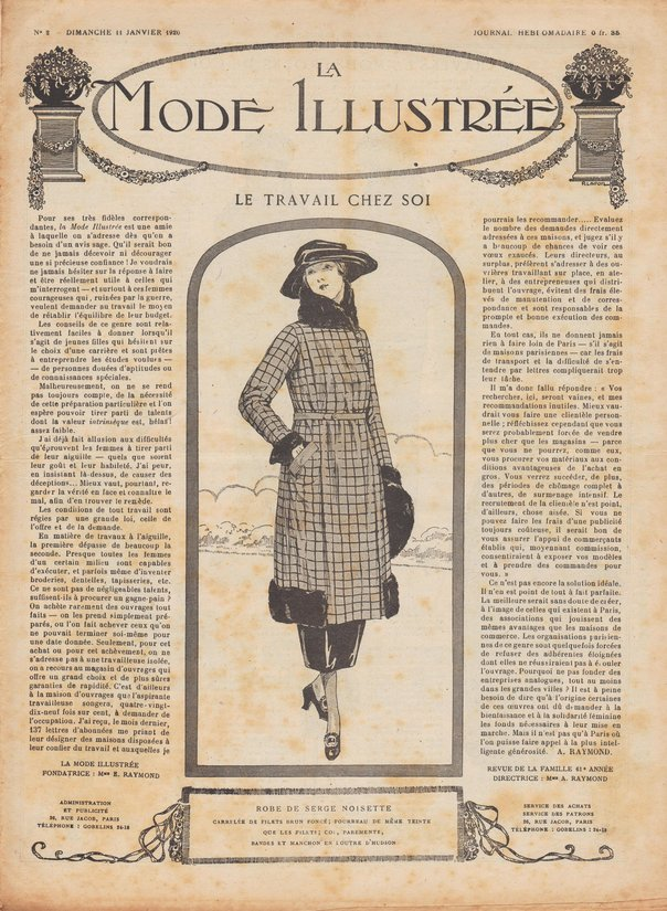 1920 patrons de robes