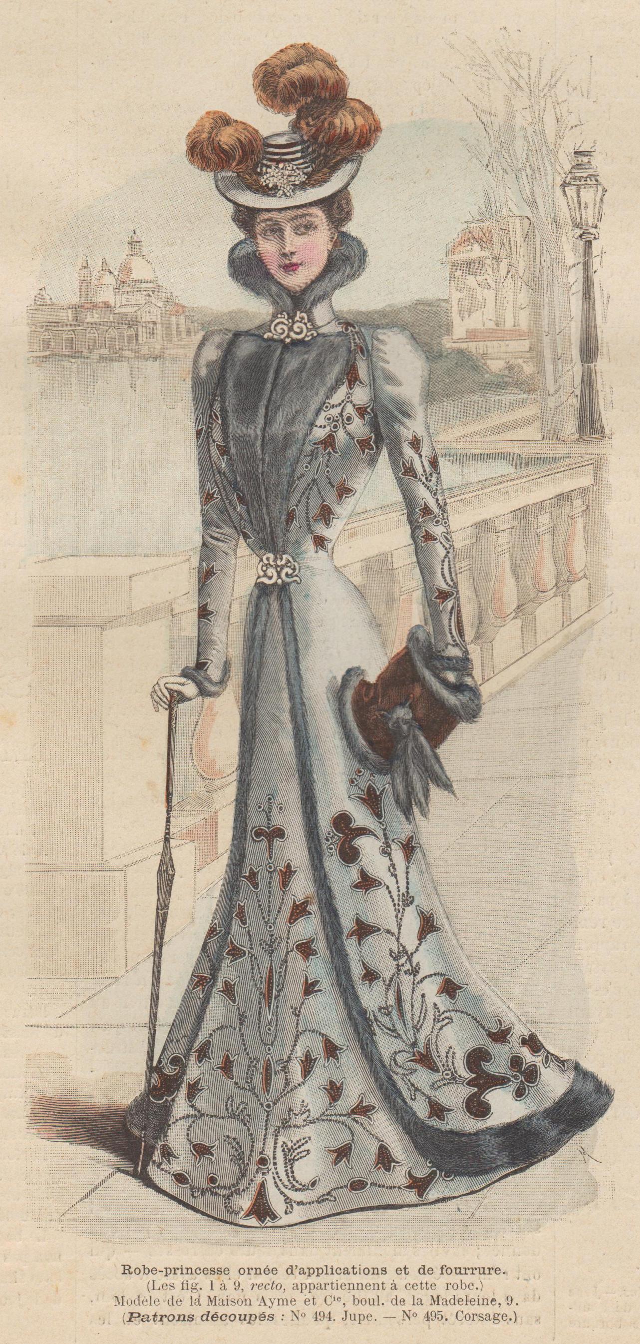 patrons robes corsets accessoires