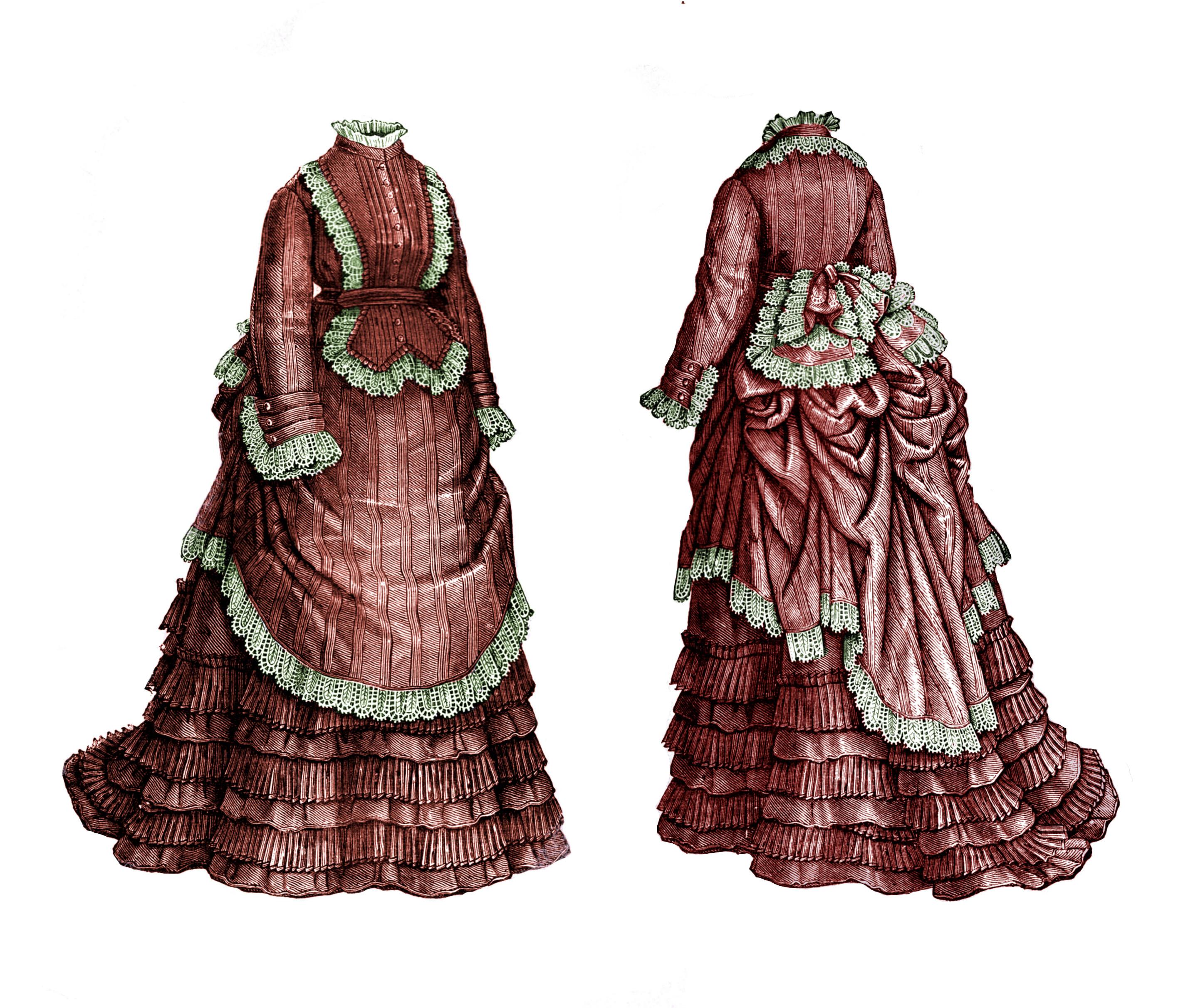patrons robe 1873