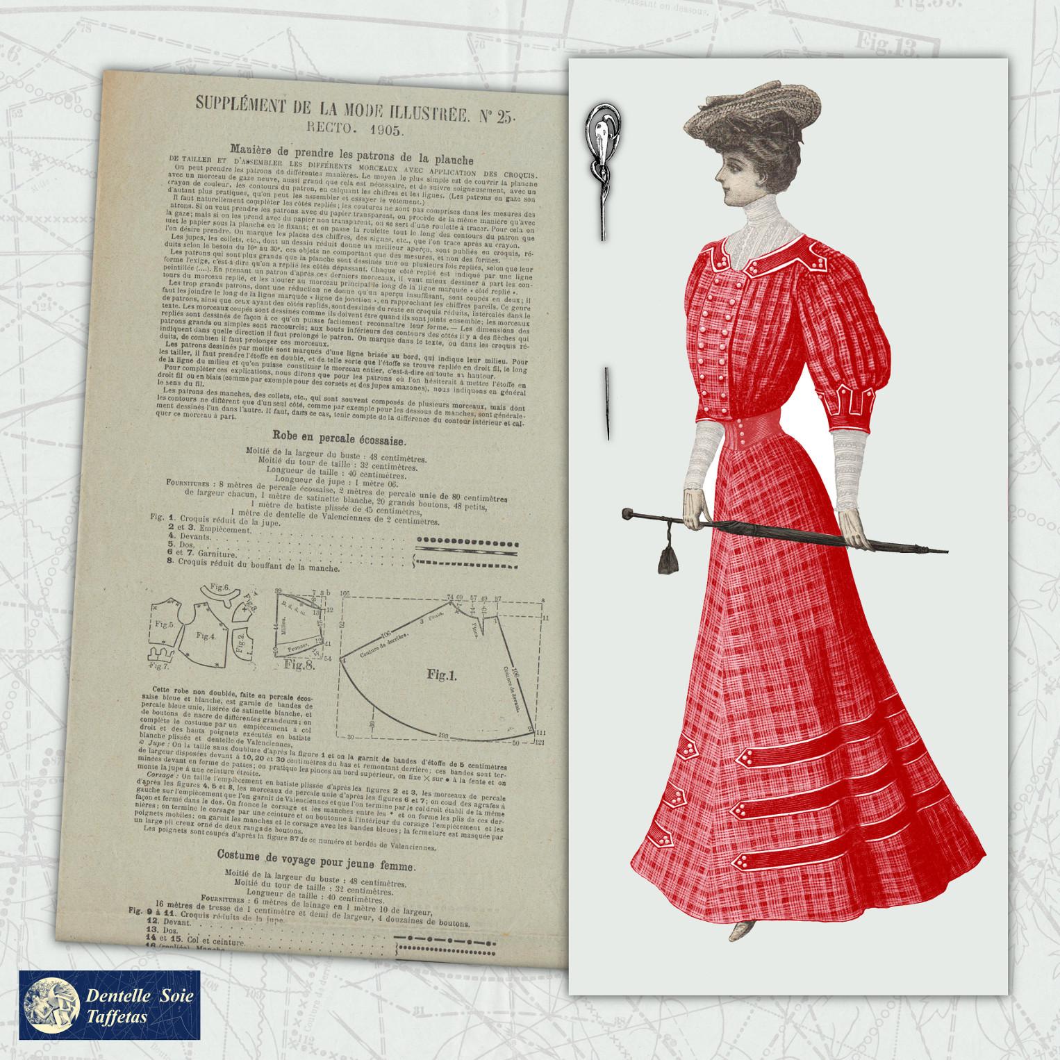 patron robe 1905