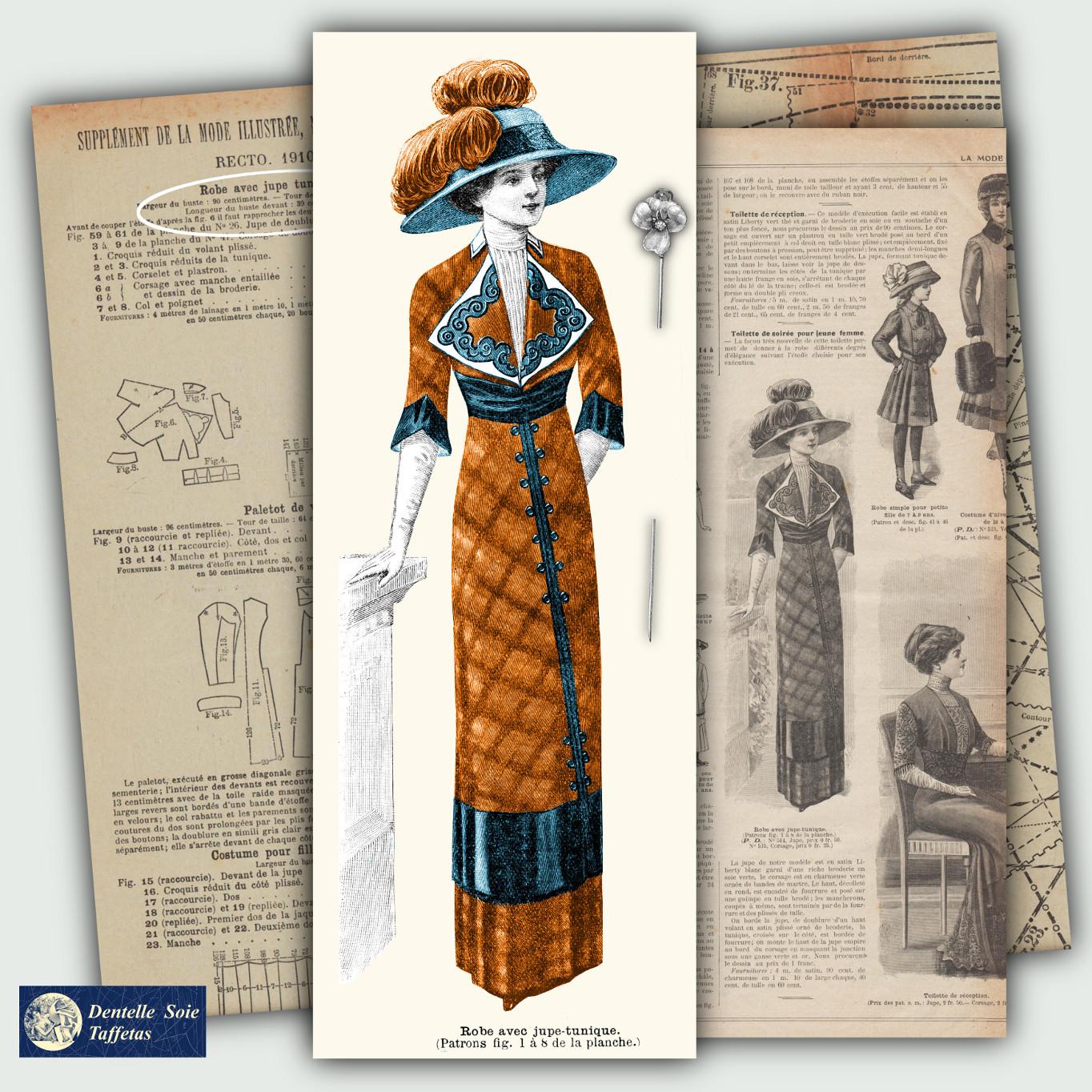 patrons mode 1910