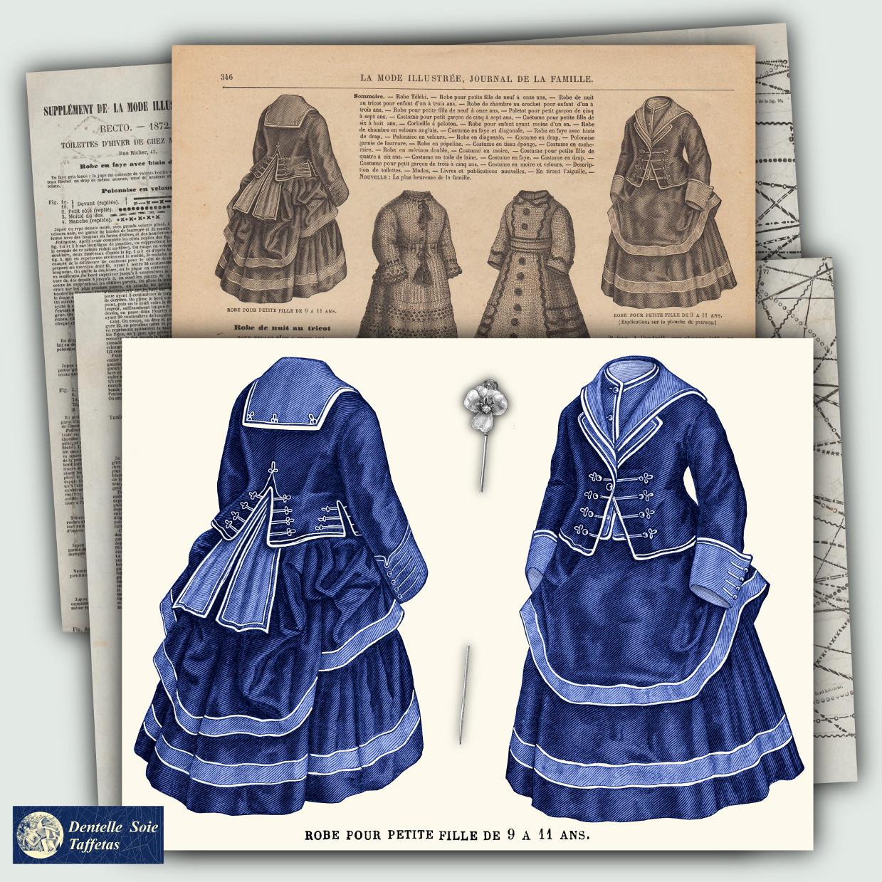 patron robe 1872
