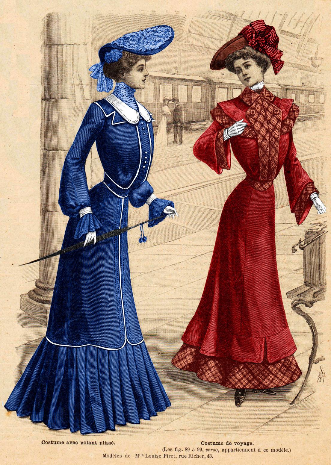 costume de voyage 1903
