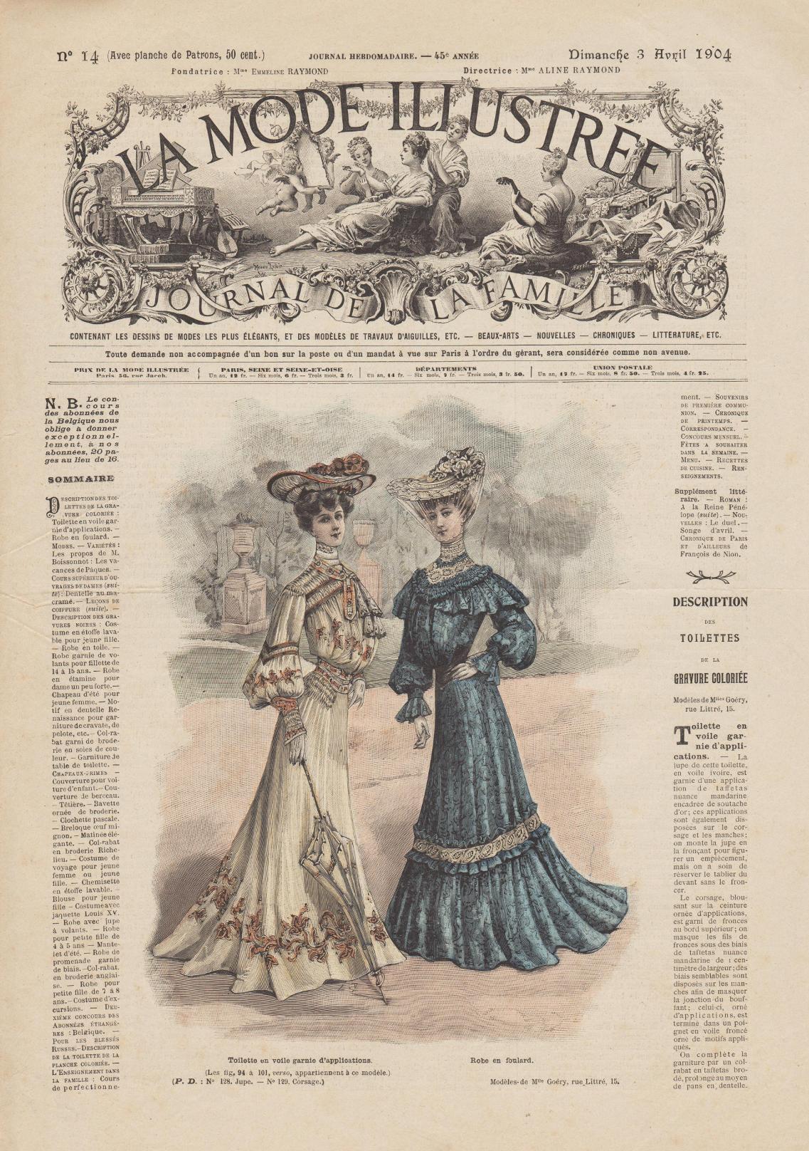 robe de 1904